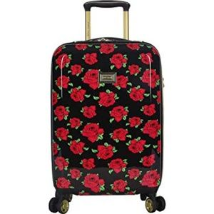 Betsey Johnson Rose 2 inch Hardside Carry On